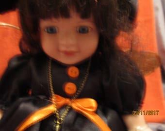 SALE All Hallow's Eve / samhain...the little October fairy witch Cyrana