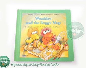 80s Fraggle Rock Book: Wembley and the Soggy Map