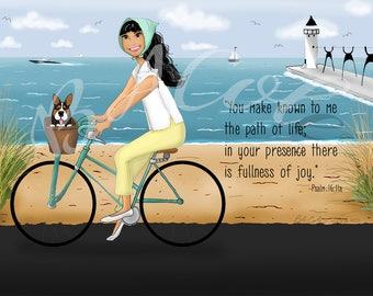 Bike Ride Along the Beach