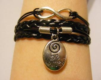 Spiral bracelet, spiral jewelry, be yourself bracelet, be yourself jewelry, infinity bracelet, infinity jewelry