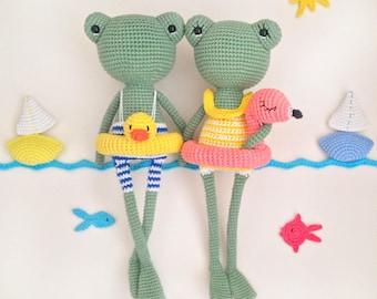 Pattern: BETTY&BOB FROGS- Amigurumi Crochet Pattern