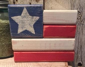 Americana Block Display
