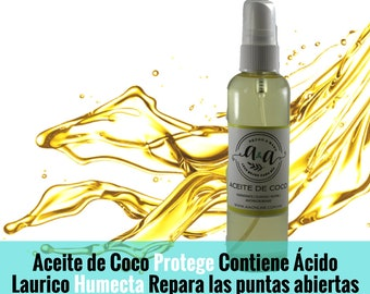 Handmade coconut oil, cosmetic use