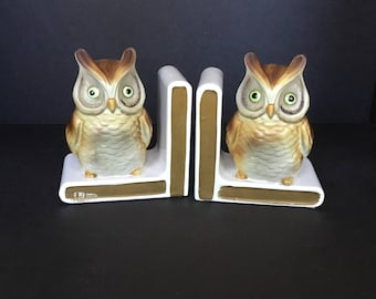 Lefton Owl Bookends