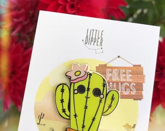 Cactus Enamel Pin - Limited Edition