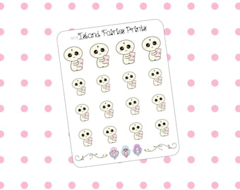 Mogus Personal Six Ring Binder Planner Stickers