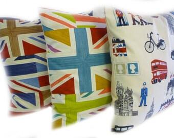 London Pillow | Etsy