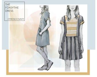 The Forsythe Dress PDF Pattern
