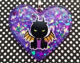 Maleficent Dragon Pendant Necklace Sleeping Beauty