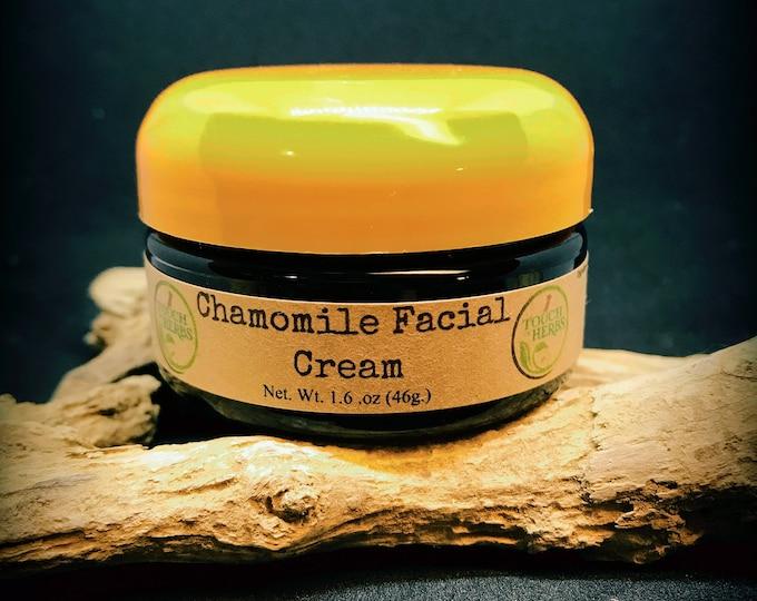 Facial care . Natural face cream . chamomile cream . natural face cream . herbal skin care . skin care gift set . herbal gift basket .