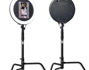 C-Stand ipad ringlight Photobooth for iPAD 12.9 and Surface Pro