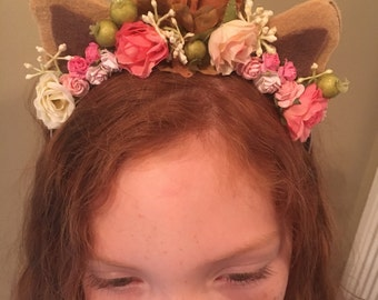 The Flower Fawn Crown