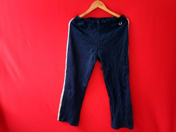 Rare!! Vintage Fred Perry Track Pants Small Size VQTbW
