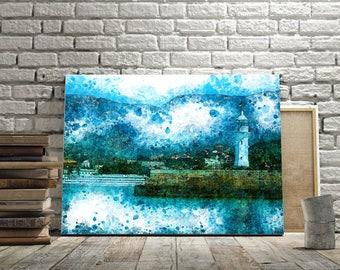 Fine Art Print, art print seascape, painting art, wall art print, print modern