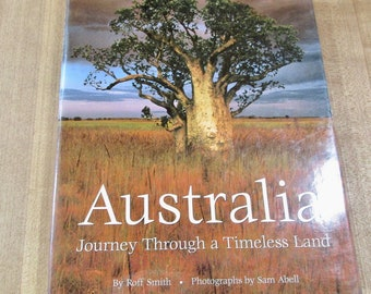 Australia by Roff Smith Photos by Sam Bell a National Geographic coffee table book very good
