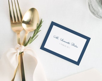 Sophisticated Modern Place Cards - Deposit