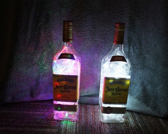 Jose Cuervo Tequila Gold 100 LED Man Cave/Bar/Deco Light with 8 light patterns, Clear or Color Changing Lights