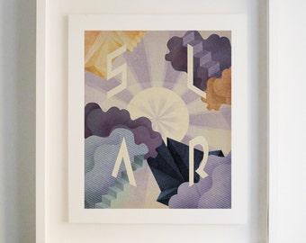 Solar - Archival Giclee Print by Eoin Ryan