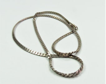 "Vintage Sterling Silver 18"" Chain"