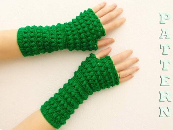 PDF-häkeln Muster fingerlose Handschuhe Fäustlinge arm