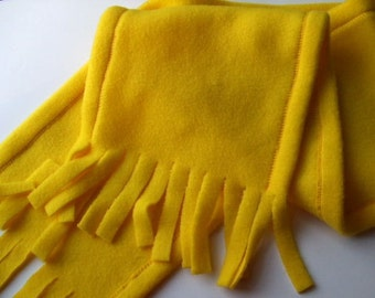 Scarf - Golden Sunshine on a Winter's Day