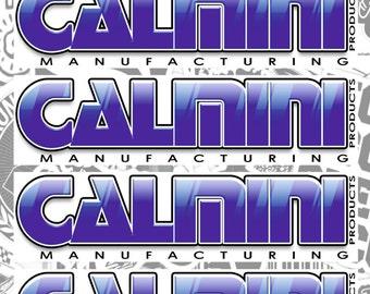 """Stickers decal kit """"Calmini"""""""