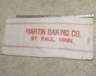 Vintage Heavy Cloth St. Paul Mn. Seed Sack