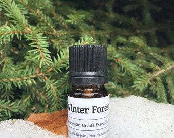 Winter Forest- essential oil blend, Christmas tree scent, Wonderland,