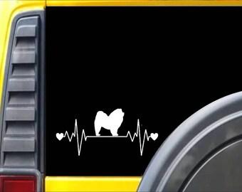 Chow Chow Lifeline Window Decal Sticker *J355*