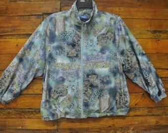 Rare Vintage Chardonne Button Down Women Coat Jacket,Size L,Chardonne Ladies Polyester Jacket,Luxury Design,Swag,Retro,Girlfriend,Christmas