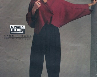 Vogue 1113 American Designer Mizono Misses' Jacket & Pants Sewing Pattern UNCUT