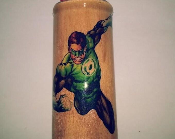 Green Lantern Bic Lighter Case Holder Sleeve Cover