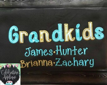 Grandkids Sweatshirt, Grandma Sweatshirt, Grandparent Gift, Mothers Day Gift, Custom Sweatshirt, Nana Sweatshirt