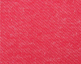 218109 pink single color knit fabric from Japan