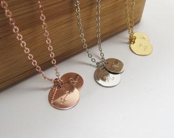 Horoscope Necklace Zodiac Necklace Personalized Necklace Bridesmaids Gift Wedding Zodiac Charm