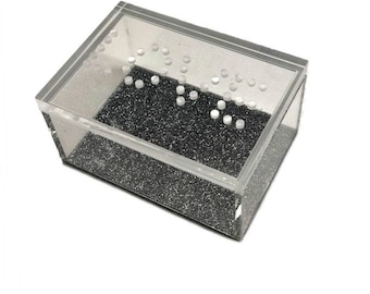 Love Acrylic Lucite Box