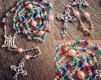 Mother's Birthstone Rosary