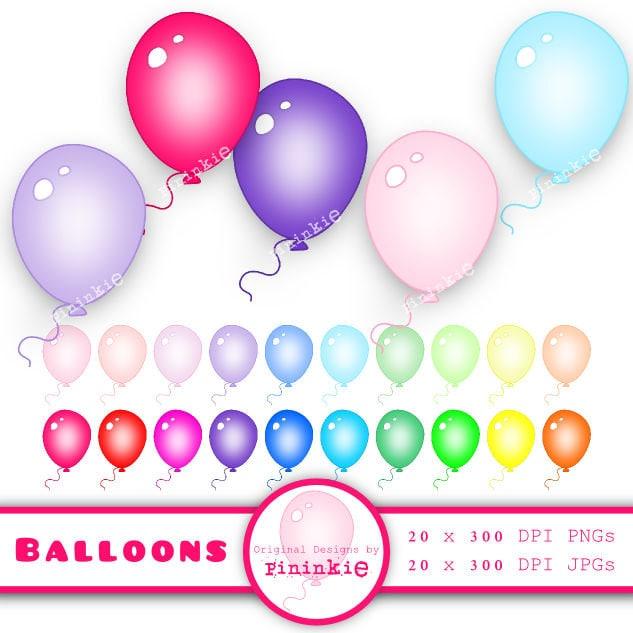 balloon clipart clip art balloon birthday clip art party rh etsy com etsy clipartopia etsy clip art just married bike