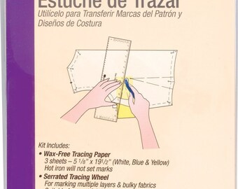 Tracing Wheel and Tracing Paper Kit - Dritz