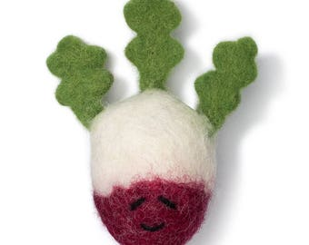Radish Wool Toy