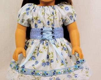 18 inch Doll Clothing- A Sweetheart Dirndl Dress
