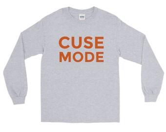 Cuse Mode T-Shirt | Syracuse Long Sleeve T-Shirt