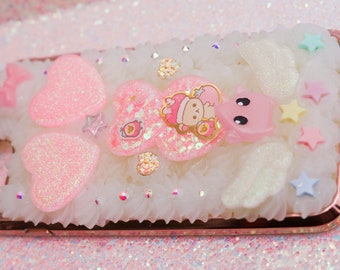 iPhone 7 Plus Decoden Whip Phone Case - Korilakkuma Hearts - READY TO SHIP!