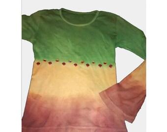 SUETER RASTA, jersey hippie, sudadera boho, eco tshirts, ropa rasta, grunge