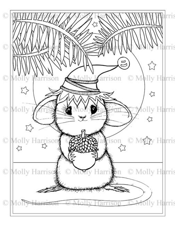 little mouse coloring pages - photo#6