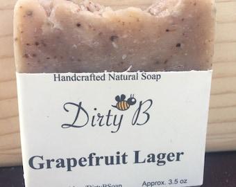 Grapefruit Lager Beer Soap