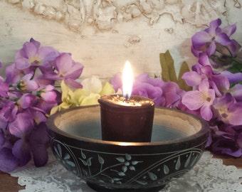 Hecate candles 2 Pk, Hekate Votive, Myrrh resin, cypress, Hecate Oil, Triple Moon