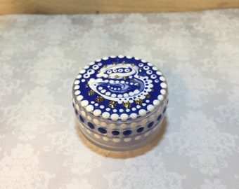Small Blue container