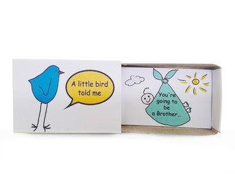 Going To Be Big Brother ,Pregnancy Reveal,Baby Announcement,Sibling Reveal, Big Bro, Litle Bird,  Baby Shower Gift, Baby Shower Sibling
