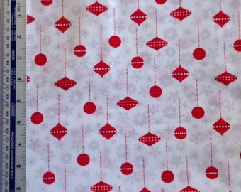 Christmas Patchwork Fabric